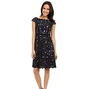 Flattering fit and flare dress